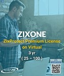 Standalone ZixOne License on Hosted 3 yr (25 – 100)