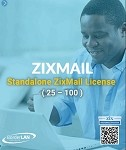 Standalone ZixMail License (25 - 100)
